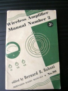 BERNARDS RADIO MANUALS No. 90 WIRELESS AMPLIFIER MANUAL NUMBER 2 BY BERNARD BABANI