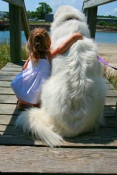 Best Friends :) The love I remember having for my dog when I was a kid is unbelievable she was my #1 friend I took her everywhere xoxo Always close to my heart!
