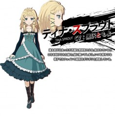 black bullet characters - Tina sprout