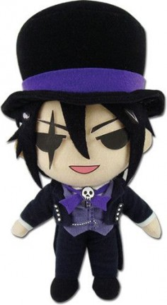 "Black Butler Book of Circus Sebastian Michaelis 8"" Plush"