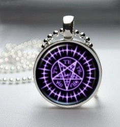 Black Butler Sebastian Seal Pendant Necklace. I want it lol