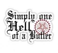 Black Butler sticker