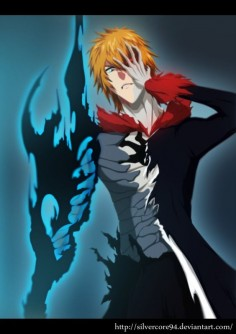 Bleach - III forms of Kurosaki by SilverCore94 on DeviantArt Más
