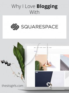 Blogging Tips | How To Blog | Most people talk about WordPress or Blogger when they are going to start a blog. I like a third option much better - Squarespace. Read why and see if it might be the right blogging platform for you, too by @Cristina | Faithfully Social for @The SITS Girls