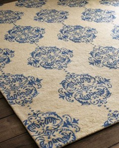Blue+Medallions+Rug+by+Safavieh+at+Horchow.