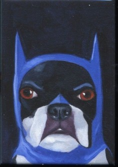 Boston Terrier Batman!!!