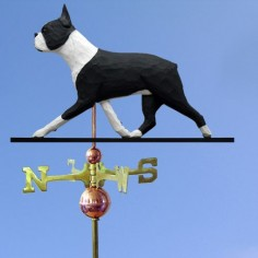 Boston Terrier Weathervane