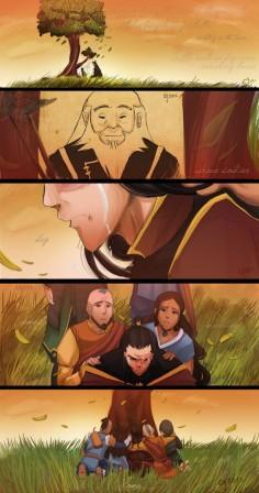 Brave Soldier Boy by Ceshira. (Avatar: The Last Airbender)