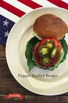 Bring your burger to the next level by stuffing it with spicy (or mild) peppers and gooey cheese. Impress your friends and grill up Mezzetta's Pepper Stuffed Burger at your next backyard barbecue. Learn how!