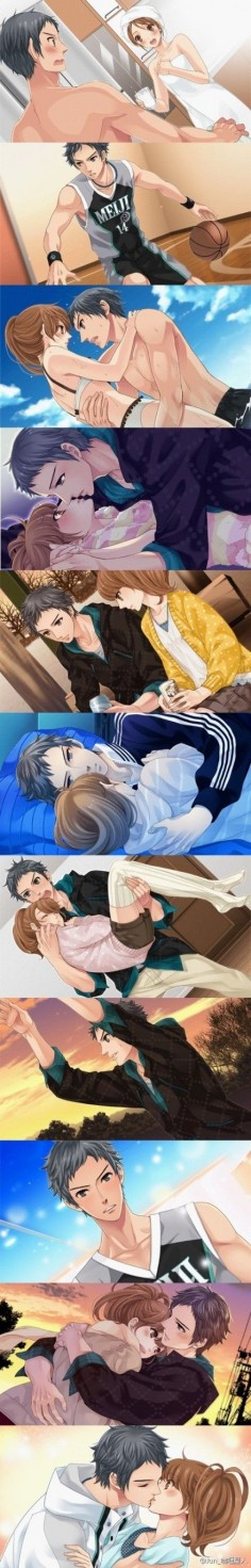 Brothers conflict: Subaru and Ema. I ship this so hard! (Г° -°)Г