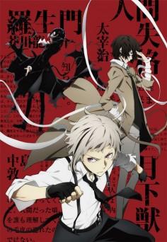 Bungo Stray Dogs | Ryuunosuke Akutagawa, Osamu Dazai, Atsushi Nakajima | Anime | SailorMeowMeow