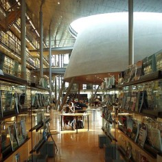 Central Library, University of Technology, Delft, Netherlands.