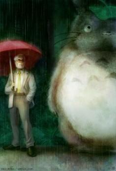 champcuute: Hayao Miyazaki by sirfish #Miyazaki #my neighbor totoro #studio ghibli