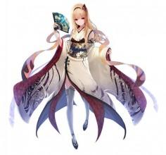 ✧ #characterconcepts ✧ Shumeigiku from Akai Katana