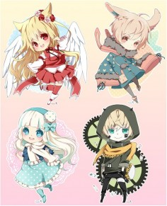 Chibi commission batch05 by inma on DeviantArt