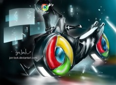 Chrome cycle by *Jon-Lock on deviantART