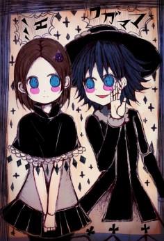 Clara Dolls fanart - Mie and Wagamama