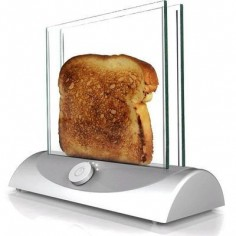 Clear toaster allows you to see when it's done. @Diane Amick