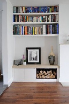 Collection of bespoke fitted furniture projects - contemporary - Living Room - London - Claude Clemaron Bespoke Wood Interiors