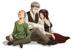 Connie , Jean and Sasha