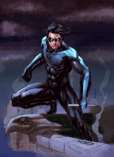 Cool NightWing art