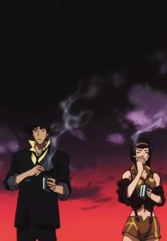 Cowboy Bebop | Spike Spiegel x Faye Valentine | OTP | Shinichiro Watanabe | Anime | Fanart | SailorMeowMeow