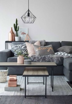Create a space perfect for entertaining family and friends this holiday season. Check out these 5 simple DIY ways to decorate your home in neutral shades of grey.