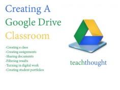 Creating A Google Drive Classroom