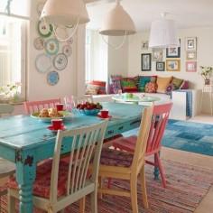 Cuisine colorée au style Bohémien et #Hippie #Chic > rendez-vous sur le blog pour en savoir plus ✌️ #deco #blogdeco