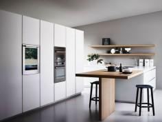 Cuisine intégrée avec îlot MAXIMA  - COMPOSITION 3 by Cesar Arredamenti design Gian Vittorio Plazzogna