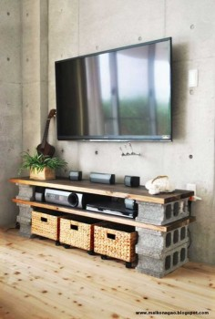 Dale a tu hogar un giro innovador con estos 10 proyectos que puedes hacer con bloques de cemento