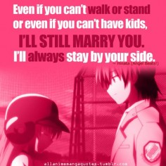 Day 28: favorite quote Hands  Love this scene, quote, characters, song, animation, anime, ALL OF