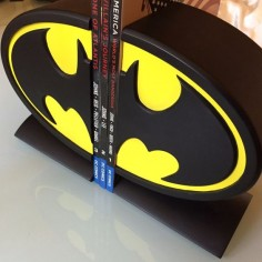 DC Comics Batman Logo Bookends