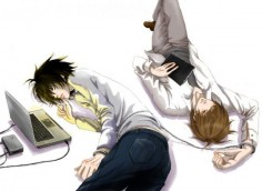DEATH NOTE, L Lawliet, Light Yagami