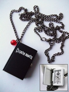Death Note Pocket Watch Long Necklace With by  MUST HAVEEEEEE!!!!!