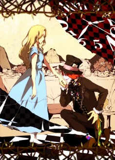 Didn't know where to post  but anime alice and the mad hatter (: