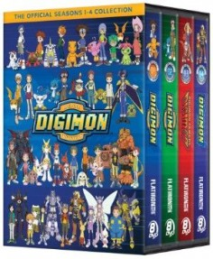 Digimon Seasons 1-4 DVD Collection (D) (Adventure/02/Tamers/Frontier)