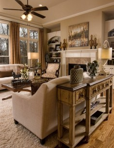 Dining Room to Family Room - traditional - family room - san diego - Decorating Den Interiors - Susan Sutherlin