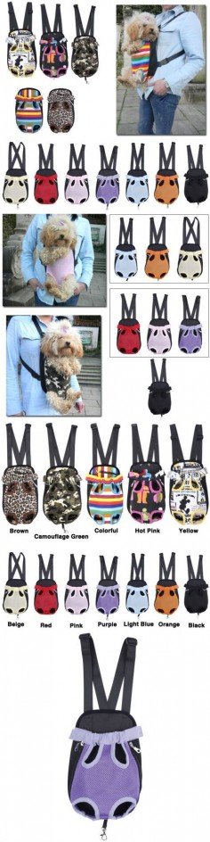 Dog Cat Nylon Pet Puppy Dog Carrier Backpack  - Exclusively on #priceabate #priceabateAnimalsDog! BUY IT NOW ONLY $