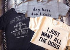 Dog Shirts for a DOGgone Good Cause