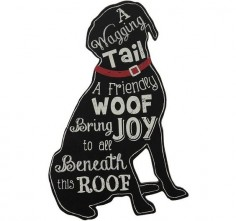 Dog Sign | Gift For Dog Lovers | Dog Home Decor
