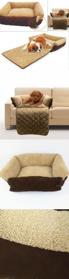 Dog/Cat Bed Soft Warm Pet Cushion Puppy Sofa  - Exclusively on #priceabate #priceabateAnimalsDog! BUY IT NOW ONLY $