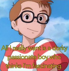 Dorky and passionate