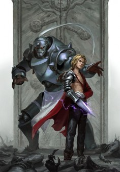 Edward and Alphonse Elric (Fullmetal Alchemist)