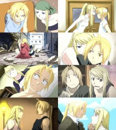 Edward Elric & Winry Rockbell. One of my favorite TV/Movie couples ever!