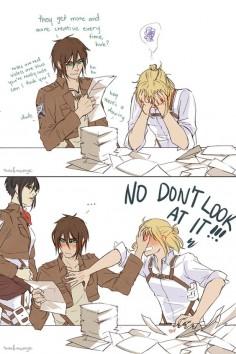 Eren, Armin & Mikasa Older (2/3)