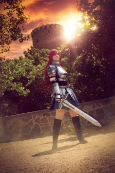 Erza Scarlet (Heart kreuz  armor) from #Anime Fairy tail by SCARLET COSPLAY