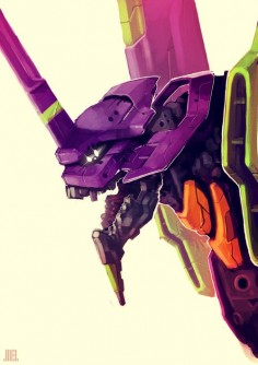 Eva 01 - Neon Genesis Evangelion
