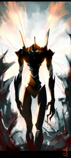 Eva-01 Valentina Rubio Lopez via Marzouq Repinned 2 weeks ago from Anime