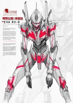 Eva RX-0 by johnsonting on DeviantArt/ Gundam Unicorn/Evangelion ★ || CHARACTER DESIGN REFERENCES ( & ) • Love Character Design? Join the Character Design Challenge (link→ ) Share your unique vision of a theme, promote your art in a community of over  artists! || ★